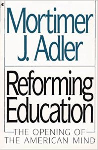 Reforming Education cover