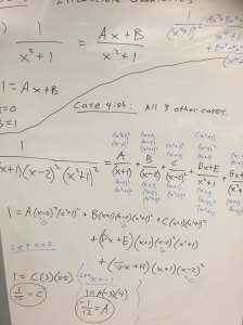 math on whiteboard