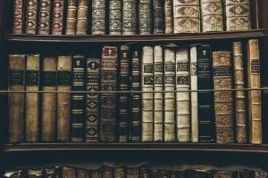 great books on shelves