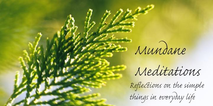 mundane meditations